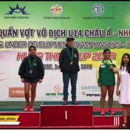 تنیس سطح ۲ آسیا به میزبانی ویتنام، رده نونهالان
