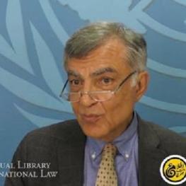 جمشید ممتاز به عنوان قاضی اختصاصی ایران در دیوان بین المللی دادگستری در لاهه منصوب شد