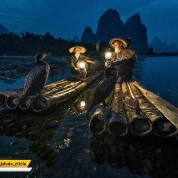 عکس امروز نشنال جئوگرافیک به ماهیگیران ساحلی در چین اختصاص دارد.