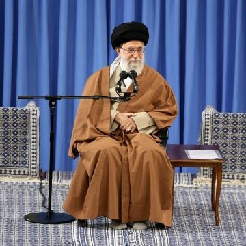 رهبرانقلاب امروز و در دیدار با اعضای مجمع عالی حکمت اسلامی