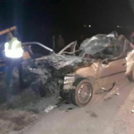 حادثه رانندگی در چهارمحال و بختیاری ۳ کشته برجای گذاشت