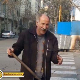 مصاحبه با  محمد ثلاث  راننده اتوبوسی که به ماموران  ناجا  کوبید