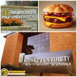 مكدونالدز با هدف پرورش استعدادها در زمينه آشپزى و رستوران دارى دانشگاهى به نام همبرگر تاسيس كرده است