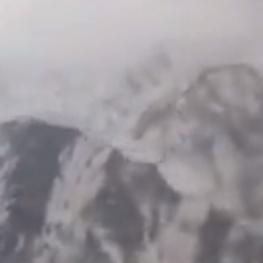 وقتی هواپیمای ایتیآر از تهران_یاسوج را سوار هستید، هواپیما در این فاصله از کنار دنا عبور میکند