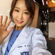 """خانم """"اوه سو جین"""" در شبکه های اجتماعی کره به دلیل سنش به شهرت رسیده."""