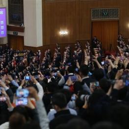 کنگره ملی چین شیجینپینگ را برای بار دوم بهعنوان رئیسجمهور چین انتخاب کرد.