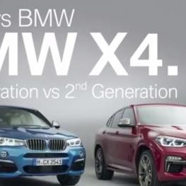 مقایسه BMW X4 مدل ۲۰۱۷ و ۲۰۱۸
