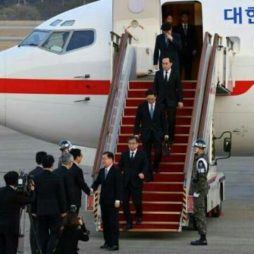 دو مقام ارشد کره جنوبی وارد آمریکا شدند.