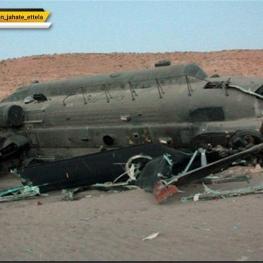 سقوط یک فروند بالگرد آمریکایی در مرزهای عراق و سوریه