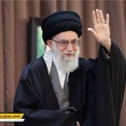 مراسم سخنرانی رهبرانقلاب اسلامی روز چهارشنبه اول فروردین ماه ۱۳۹۷ در رواق امام خمینی(ره)