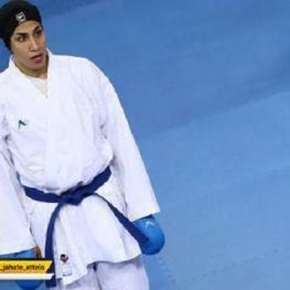 حمیده عباسعلی، بانوی کاراته کا کشورمان به فینال لیگ جهانی هلند راه یافت