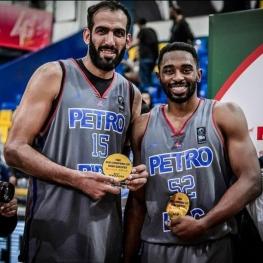 حامد حدادی و مایک هریس به ترتیب بهترین ریباندر و با ارزشمندترین بازیکن بسکتبال غرب آسیا