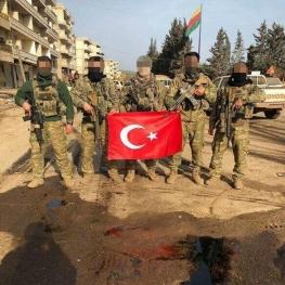 ارتش ترکیه در دل خاک عفرین