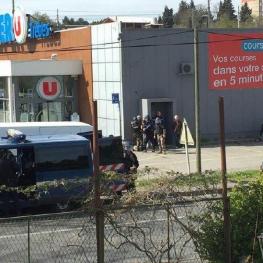 وقوع دو حادثه جداگانه تيراندازي و گروگانگيري در منطقه اي در جنوب غربي فرانسه