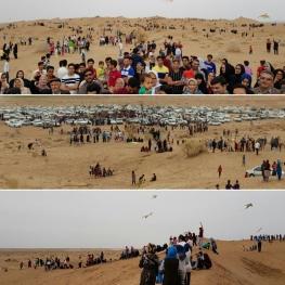 جشنواره بادبادکها در تپه های ماسه بادی حسن آباد اعتماد