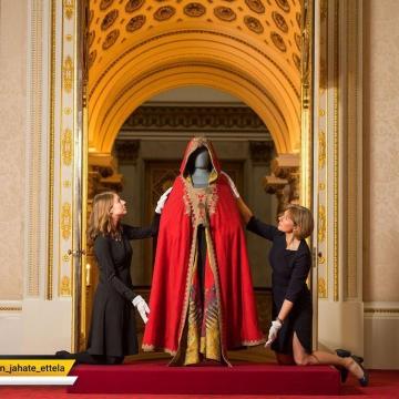 رونمایی از لباس ناپلئون بناپارت امپراتور اسبق فرانسه