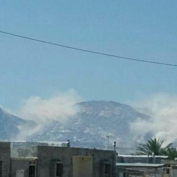 فیلمی از ریزش کوه نمک در تنگستان  پس از زلزله