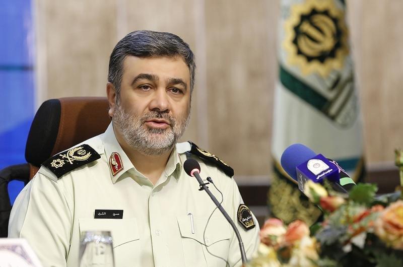 توضیحات سردار اشتری در خصوص بحث جنجال برانگیز خودروهای خریداری شده توسط نیروی انتظامی
