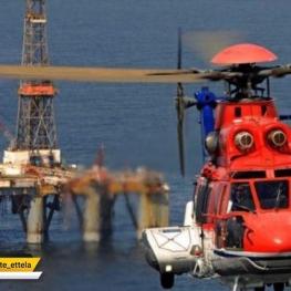پیکر خلبان بالگرد شرکت نفت فلات قاره در خلیج فارس پیدا شد