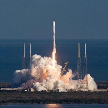 ماموریت شب گذشته موشک فالکون ٩ برای پرتاب فضاپیمای ناسا