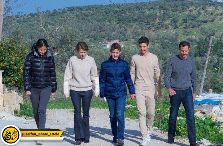 فرزندان بشار اسد تعطیلات را دریک محوطه سبز و حفاظت شده نظامی در شبه جزیر کریمه گذرانده اند