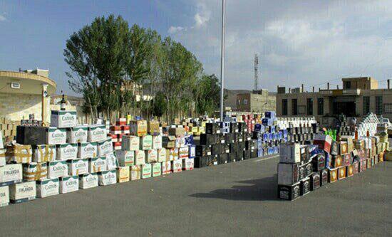 دستگیری ۱۴۵نفر بدلیل کشف مشروبات الکلی در دزفول