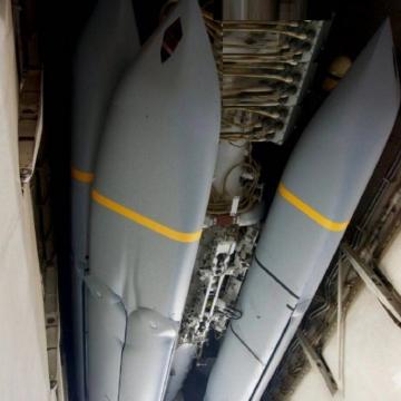 """تصاویری از پرتاب موشکهای """"JASSM """" که به اهدافی در خاک سوریه شلیک شد"""