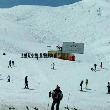 پیست اسکی دیزین امروز