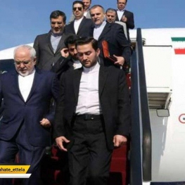 وزیر امور خارجه جمهوری اسلامی ایران وارد نیویورک شد.