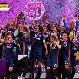 تیم بانوان المپیک لیون قهرمانی لیگ قهرمانان بانوان اروپا را کسب کرد