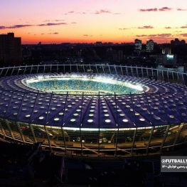 نمایی از ورزشگاه برگزاری فینال لیگ قهرمانان اروپا