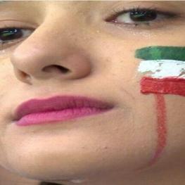 صحنه تلخ اشک های هوادار ایرانی