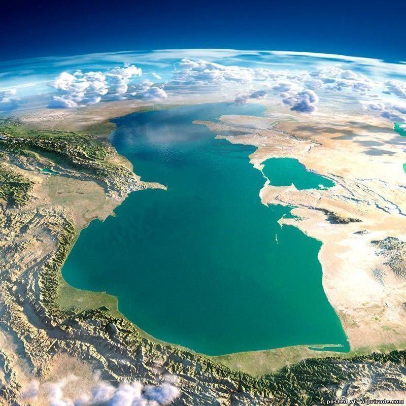 تصویر روز: دریای خزر