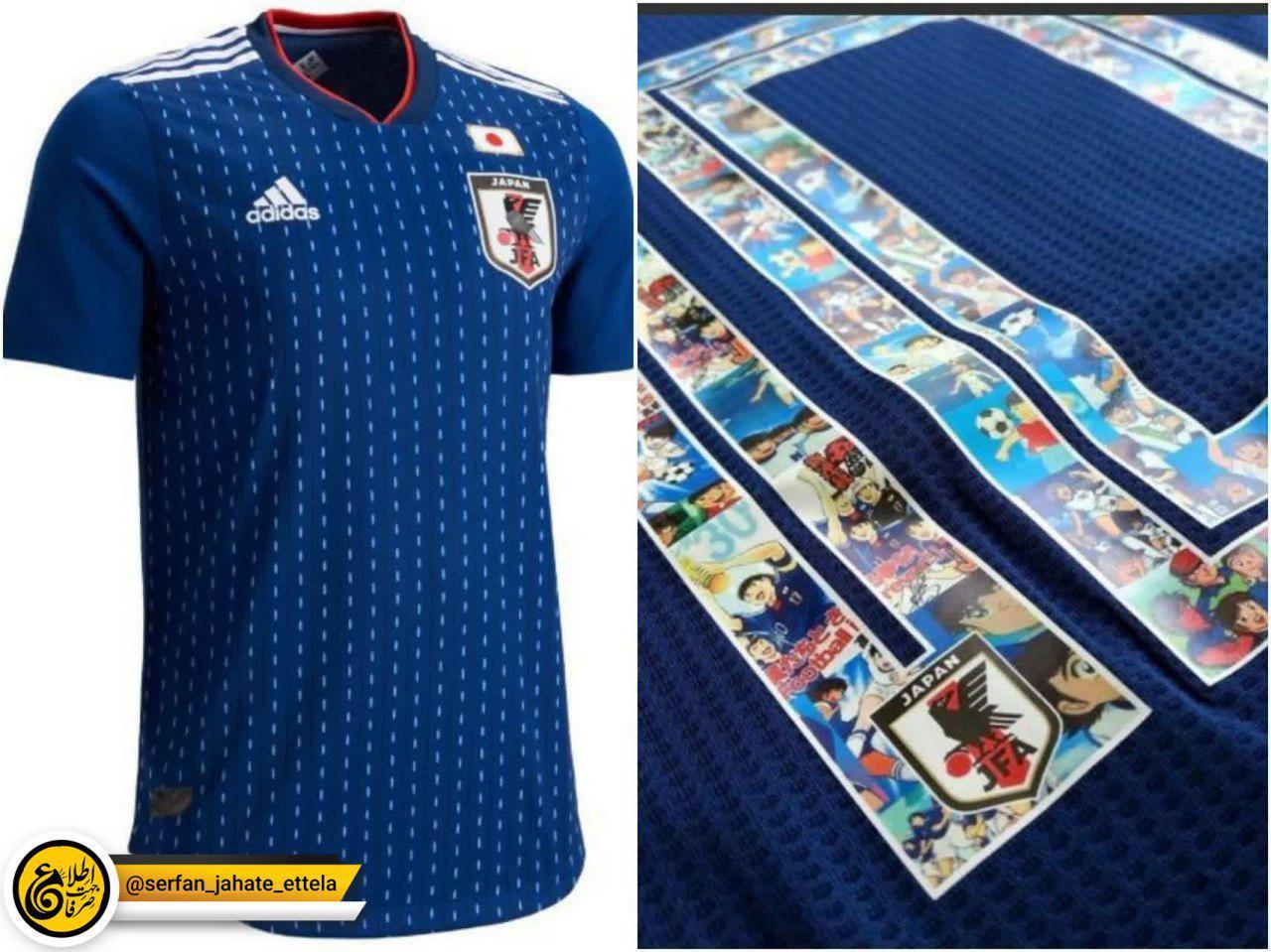 ژاپن با اقتدار صدرنشین زیباترین لباس جام جهانی ۲۰۱۸ !