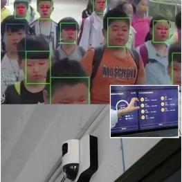 کنترل توجه دانش آموزان سرکلاس در چین !