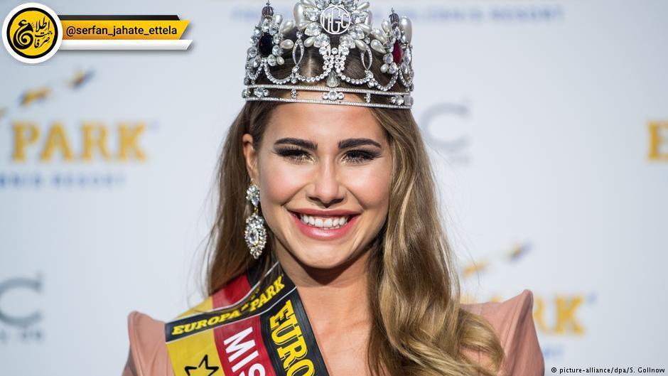 زوئه برنت دختر ۱۸ ساله بلژِکی برنده جایزه میس موندیال شد