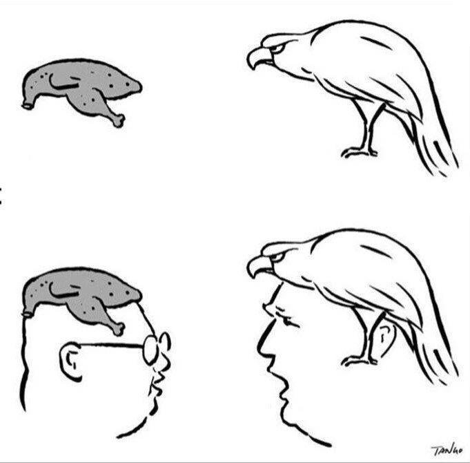 دیدگاه یک کارتونیست از دیدار و نشست تاریخی ترامپ و کیم جونگ اون