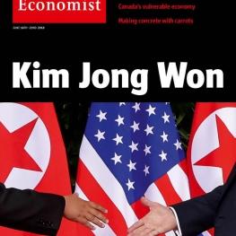 کاور اکونومیست کیم جونگ برنده شد