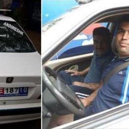 هموطن ایرانی که با خودروی خود به مسکو رفته اند