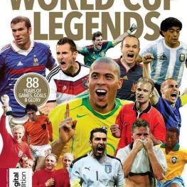 دیدترین شماره ازمجله مشهور #ورزشی  World Cup Legends   سال  ۲۰۱۸|۱۴۸ صفحه