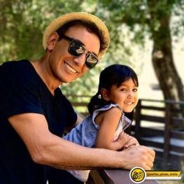 اینستاگرام گردی: شادمهر عقیلی و دخترش