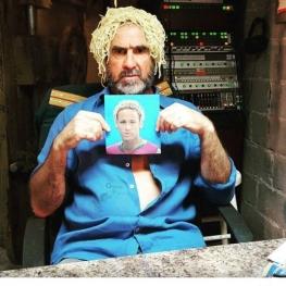 شوخی جالب اریک کانتونا با مدل موهای نیمار