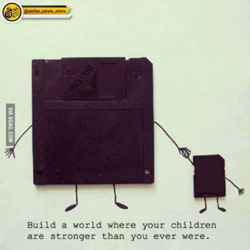 دنیایی بسازید که بچهها در آن قویتر از آنچه شما بودید شوند