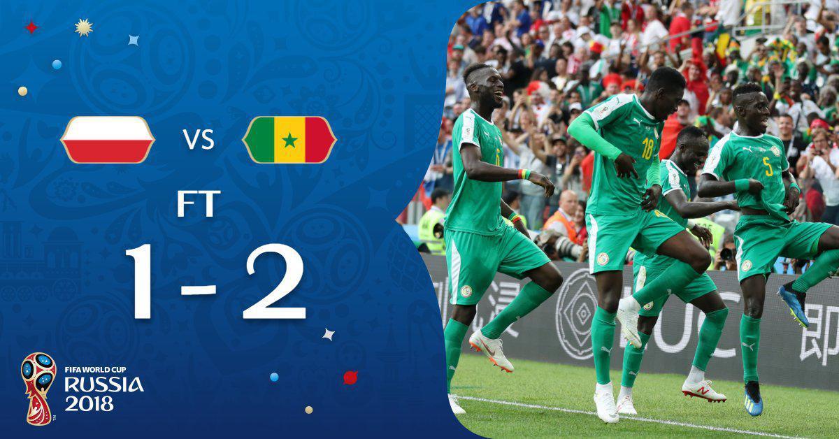  سنگال اولین برد آفریقاییها را کسب کرد!