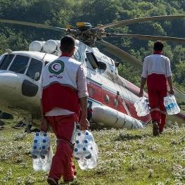 امدادرسانی به روستاهای سیلزده رودسر