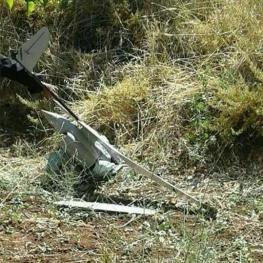 یک فروند پهپاد متعلق به اسرائیل در بخش سوریهای بلندیهای جولان سقوط کرد