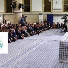 رهبر انقلاب در دیدار نمایندگان مجلس شورای اسلامی