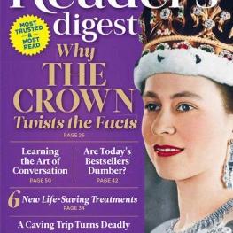 جدیدترین شماره از ماهنامه ی محبوب  Reader's Digest