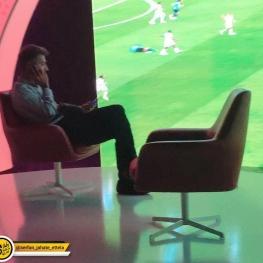 حضور فردوسیپور در برنامه جام جهانی ۲۰۱۸ بعد از غیبت چند ساعته