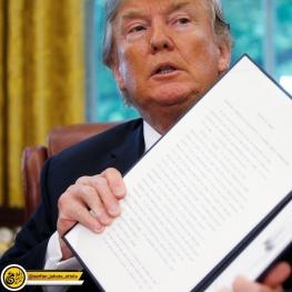 دونالد ترامپ دستور اجرایی توقف سیاست جدا کردن فرزندان مهاجران غیرقانونی را امضا کرد